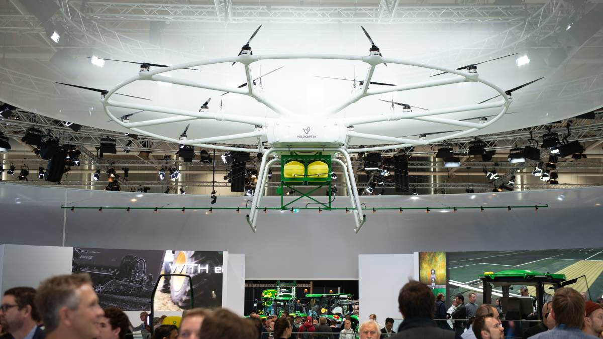 VoloDrone si agritechnica 2019
