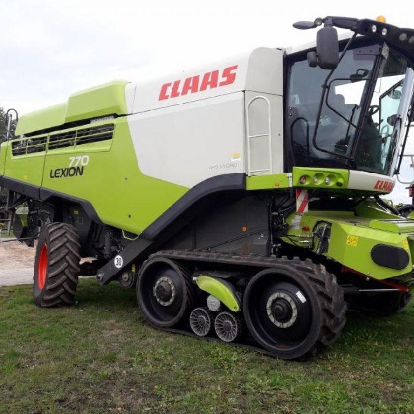 CLAAS Model  LEXION 770 TERRA TRAC - T4, combine agricole