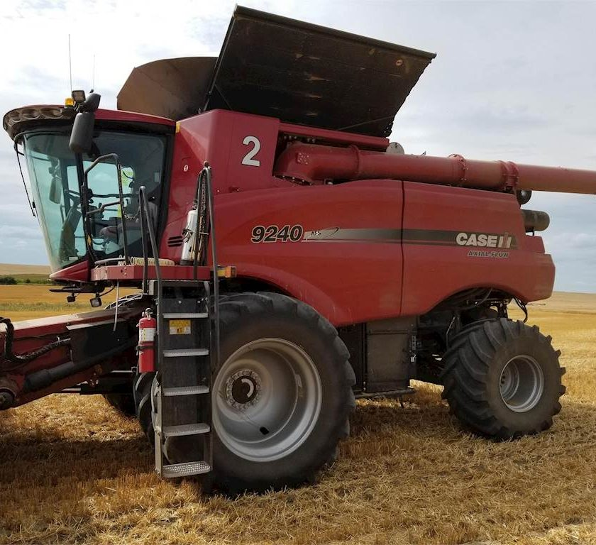 CASE IH Model 9240, combine agricole