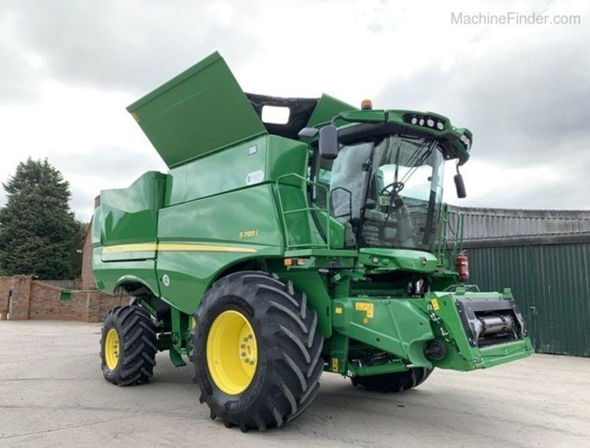 JOHN DEERE Model  S785, combine agricole, combine inregistrate la AFIR