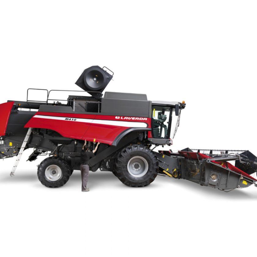 LAVERDA Model  M 410 LCI, combine agricole
