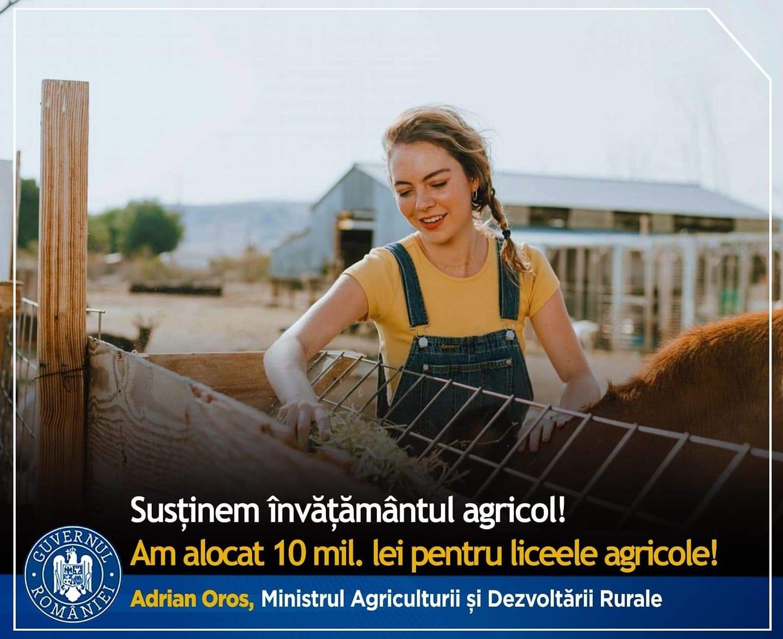 Învățământul profesional agricol dual în atenția MADR și MEC; parteneriat cu fermierii pentru relansarea învățământului agricol; stiri agricole